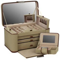British Safari Extra Large Jewelry Case