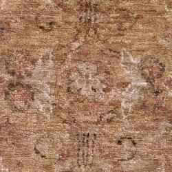 Hand-woven Hexham Traditional Border Hemp Rug (8' x 11')