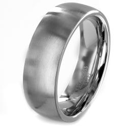 Stainless Steel Brushed Wedding Band
