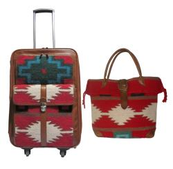Amerileather Roamer 2-piece Carry-on Luggage Set