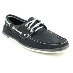 Nautica Men's Black Hyannis Boat Shoes