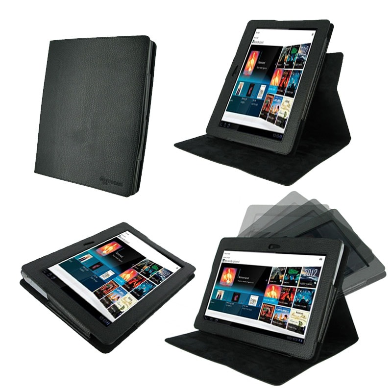 rooCASE Sony Tablet S1 Dual View Leather Case Cover Stand