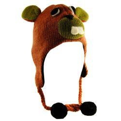 H2W Kid's Brown Wool Beaver Hat