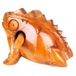 Wooden Croaking Frog (Indonesia)