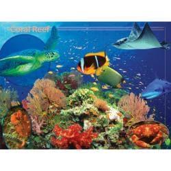 400-Piece Majestic Britannica Coral Reef Puzzle
