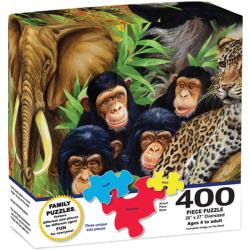 400-Piece Majestic Animal Act Puzzle
