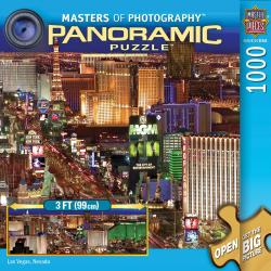 1000-Piece Masters Of Photography Las Vegas Panoramic Puzzle 