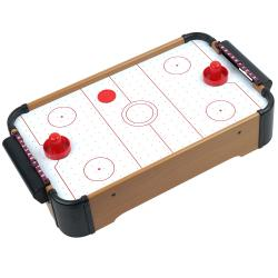 Trademark Games Mini Table Top Air Hockey w/ Accessories