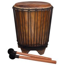 Mahogany Drum Table (Indonesia)