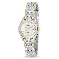 Seiko SXE586 Women's Le Grand Sport Two-tone Watch
