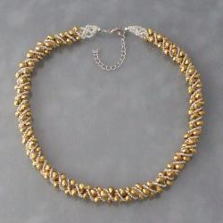 Goldtone Crystal Necklace (Philippines)
