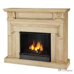 Kristine Real Flame Ventless Gel Fireplace