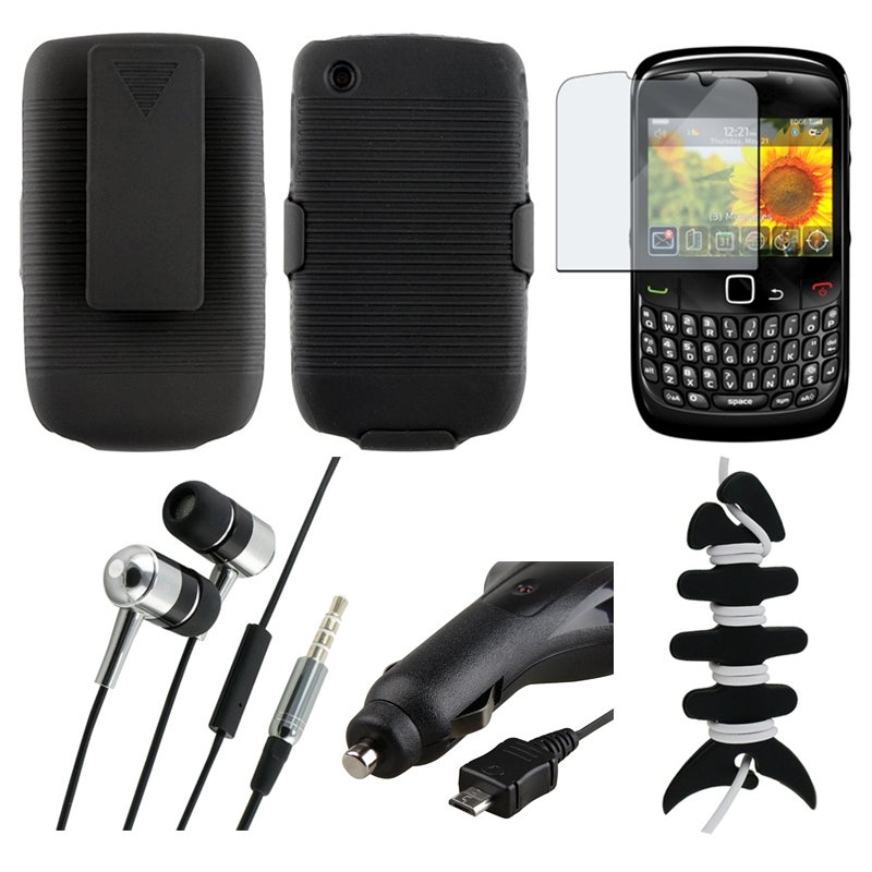 Holster/ Protector/ Charger/ Headset/ Wrap for BlackBerry Curve 8520