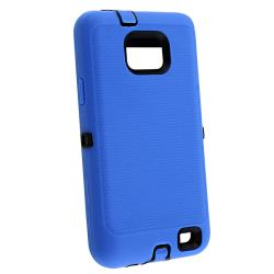 Black/ Blue Hybrid Case for Samsung Galaxy S II i9100