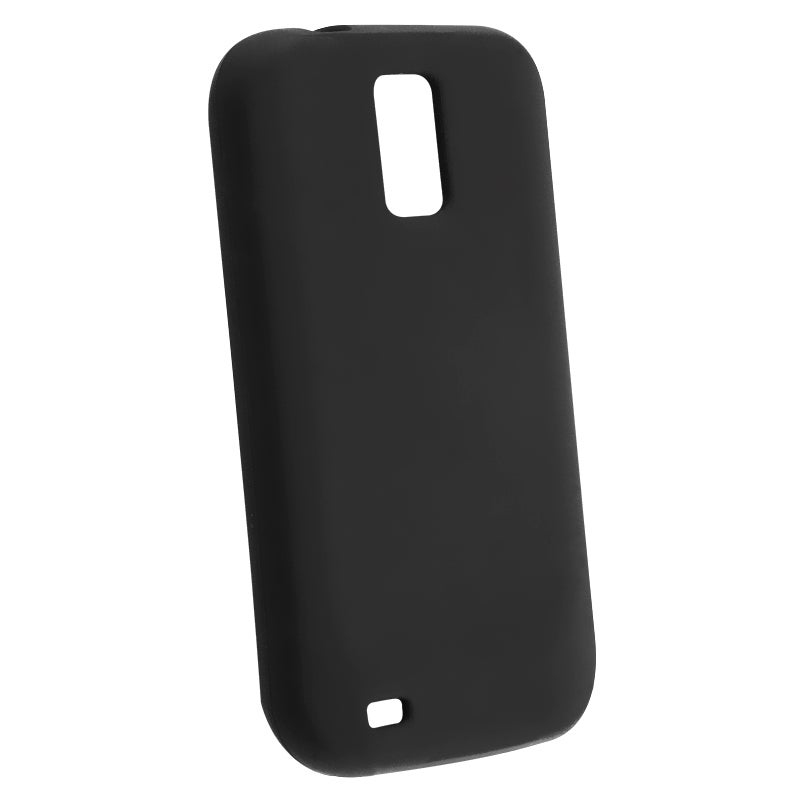 Black Silicone Skin Case for for Samsung Galaxy S2 Hercules T989