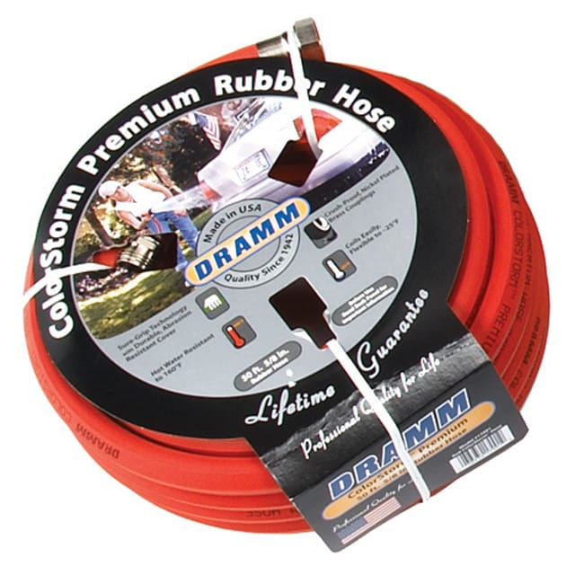 Dramm Colorstorm Premium Red Rubber Hose
