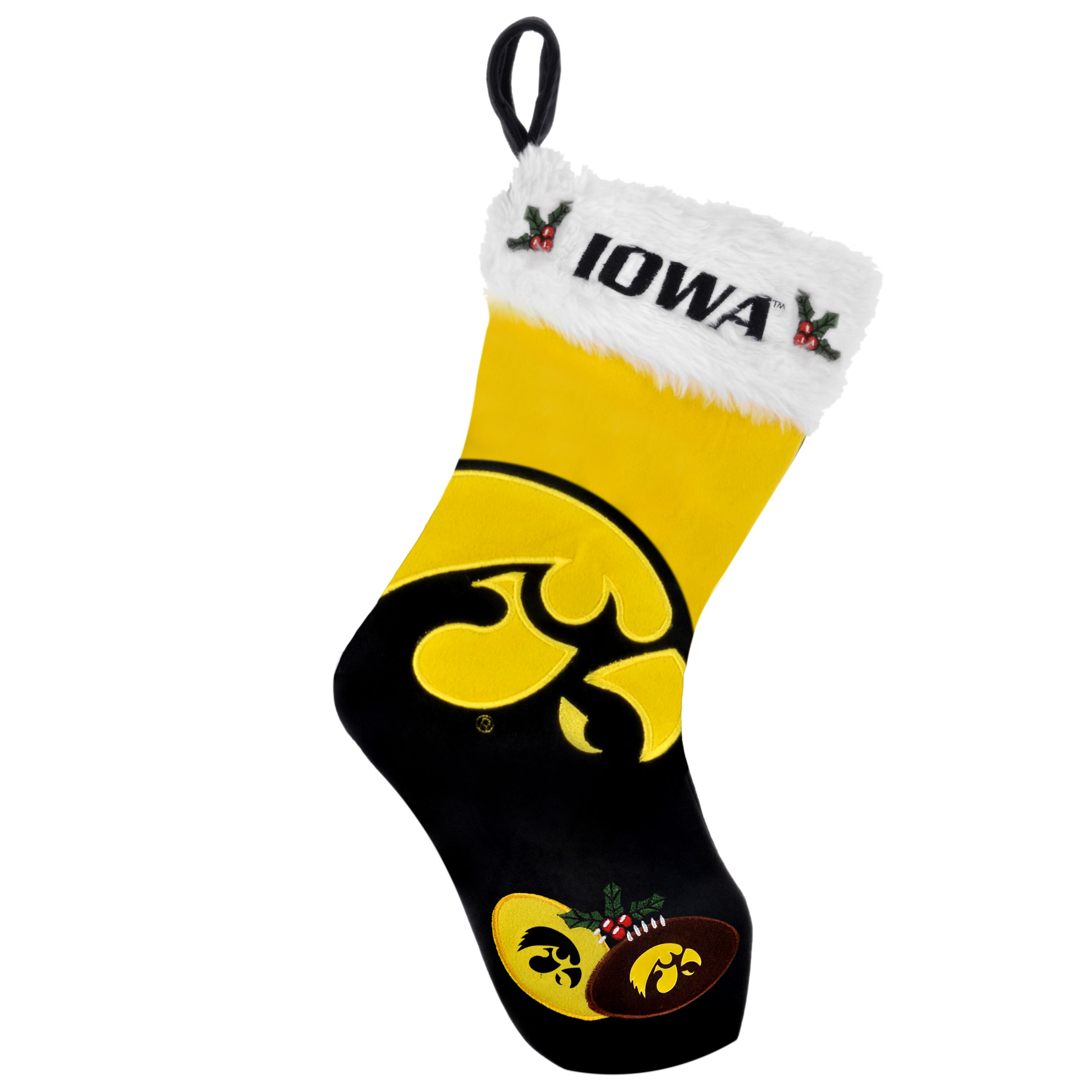 Iowa Hawkeyes 2011 Colorblock Christmas Stocking