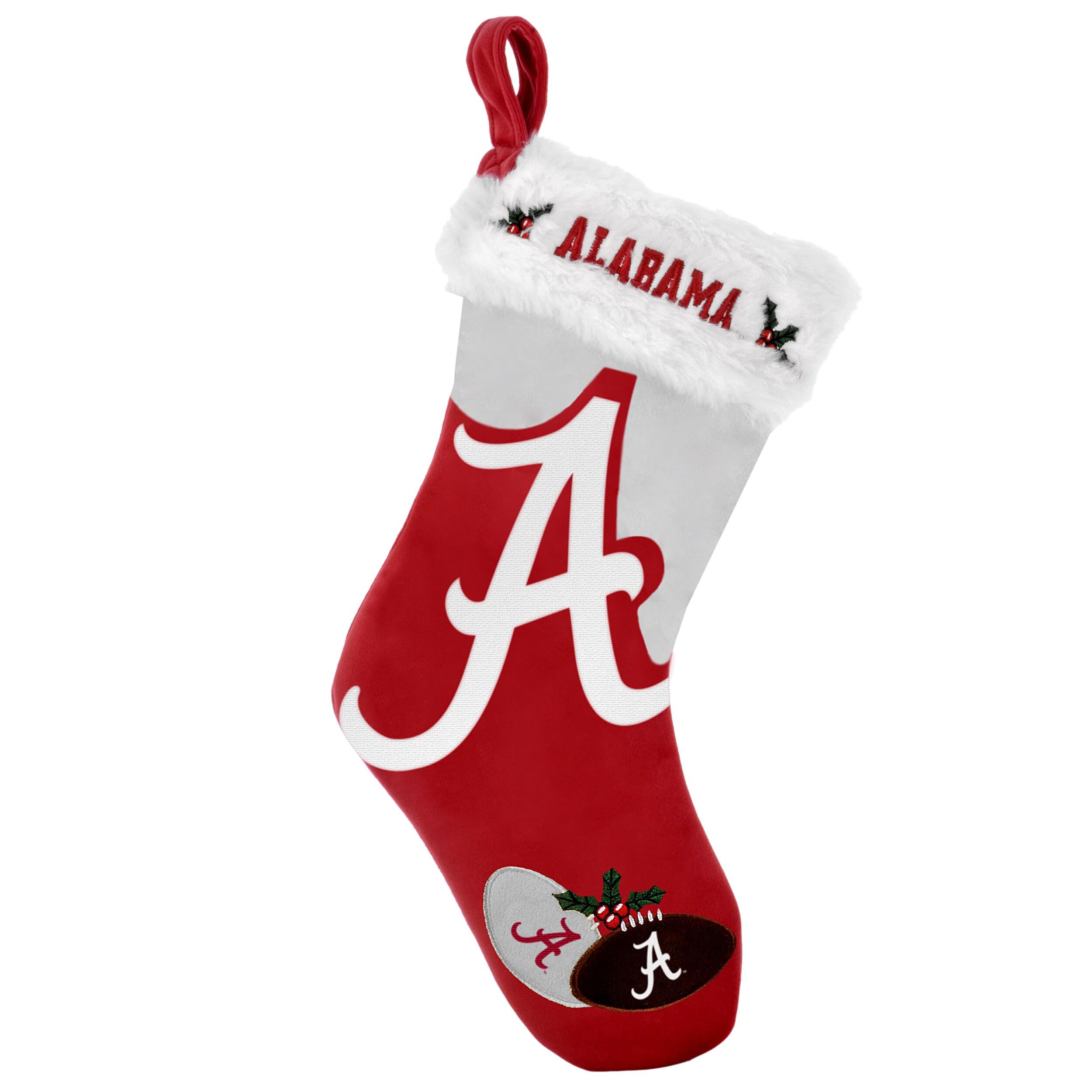 Alabama Crimson Tide 2011 Colorblock Christmas Stocking