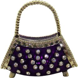 Objet d'Art 'Le Rive Gauche' Ladies Handbag Trinket Box