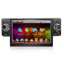 SVP XY488 Universal Single Din 4.3-inches Touch Screen in Dash Car Stereo with Navigation System