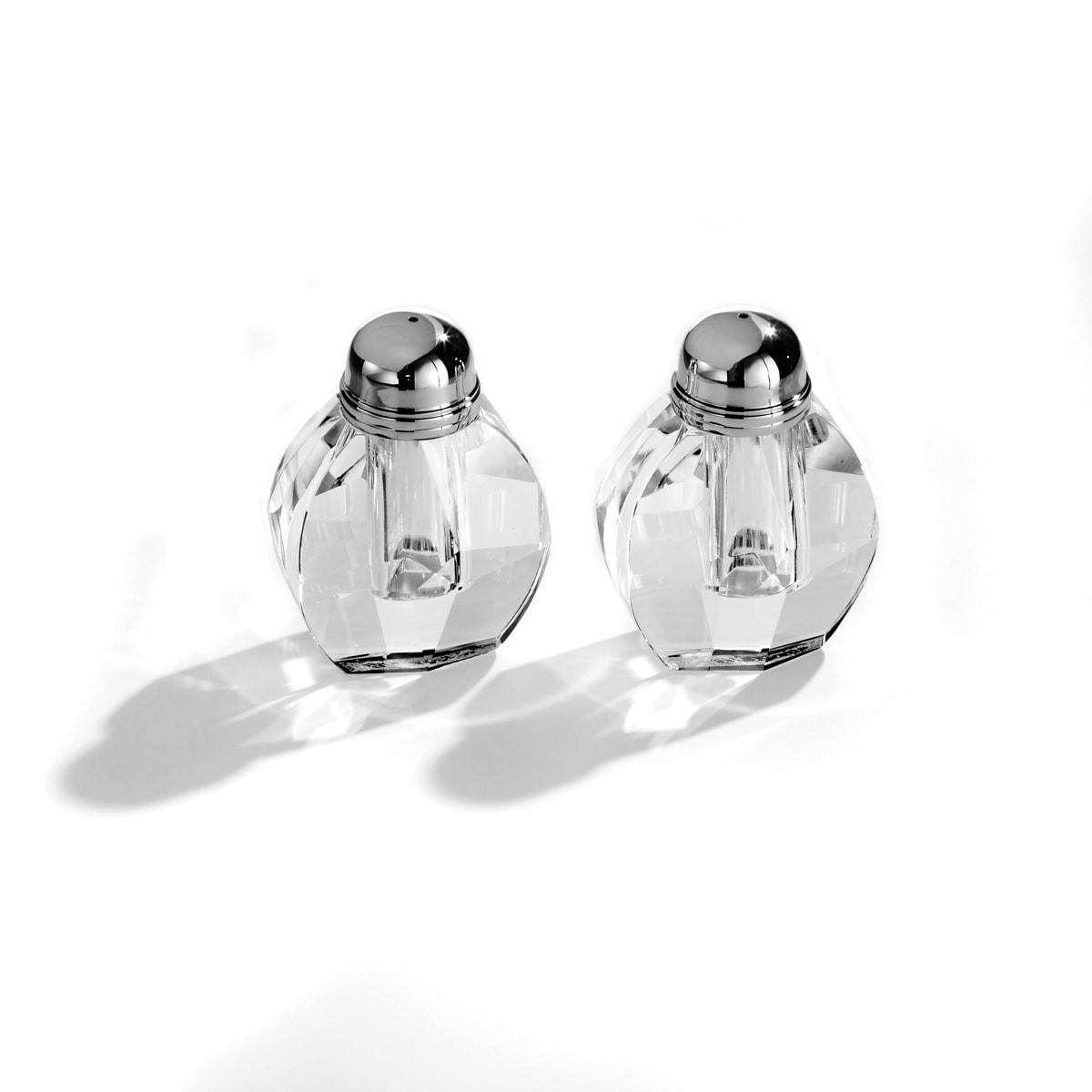 Fifth Avenue Crystal 'Reflections' 2-Piece Salt/ Pepper Shaker Set