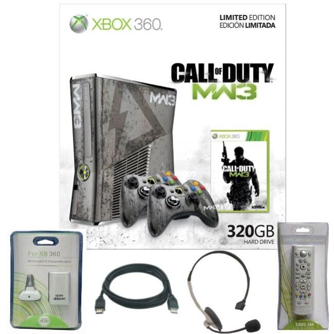 Xbox 360 - Limited Edition Call of Duty: Modern Warfare 3 Ultimate Holiday bundle