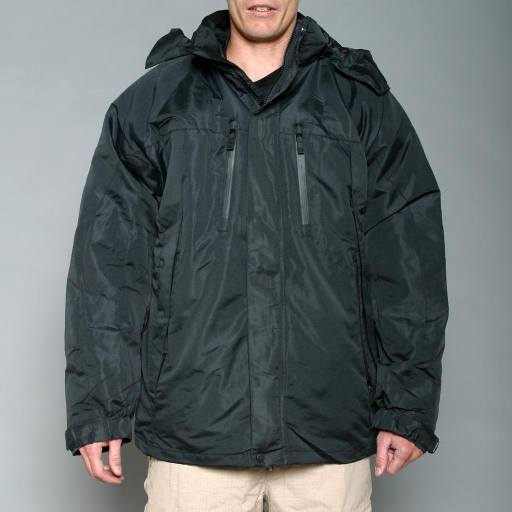 Pulse Men's Black 3-in-1 Systems Snow Jacket