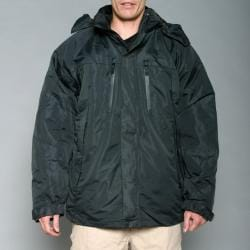 Pulse Men's Black 3-in-1 Systems Snow Jacket