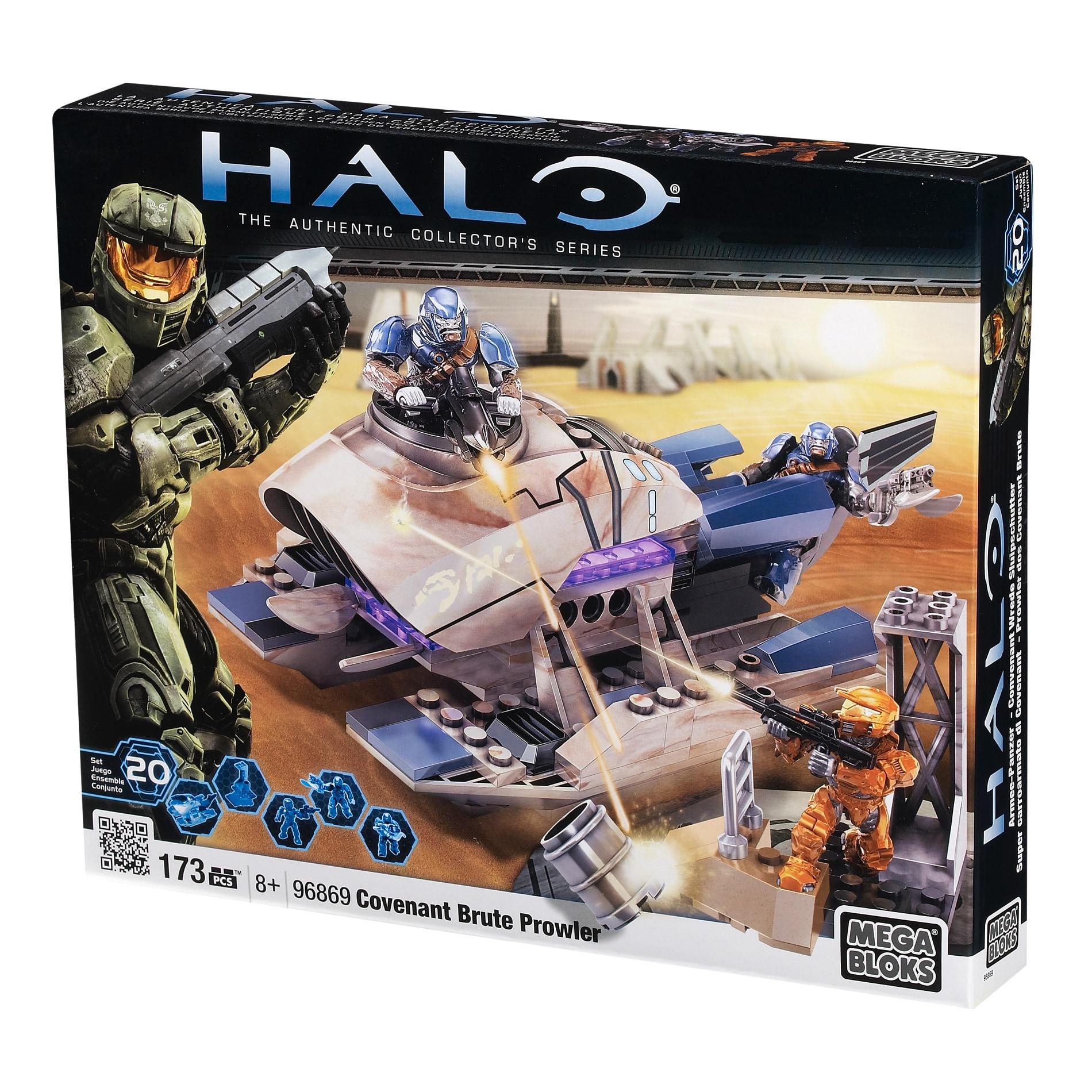 Mega Bloks Halo Covenant Brute Prowler