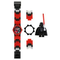 LEGO Kids' 9002908 Star Wars Darth Vader Link Watch with Minifigure