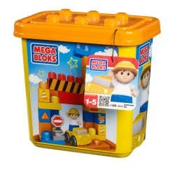 Mega Bloks Small Tub Town Construction Site