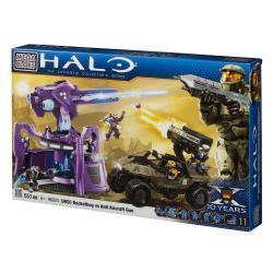 Mega Bloks Halo UNSC Rockethog vs Anti Aircarft Gun