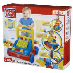 Mega Bloks Build'n Go 3-in-1 Walker Play Set