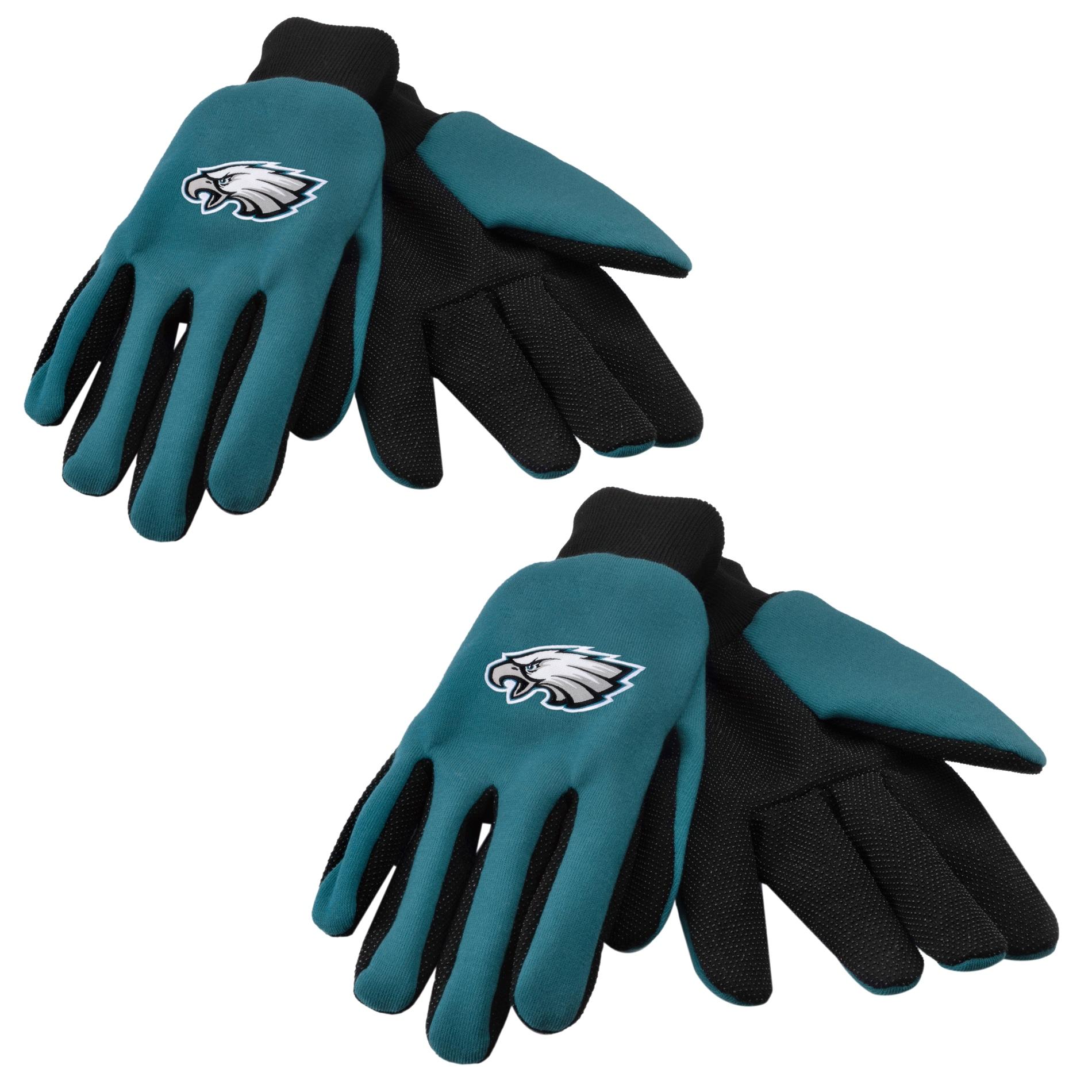 Philadelphia Eagles Two-tone Gloves (Set of 2 Pair)
