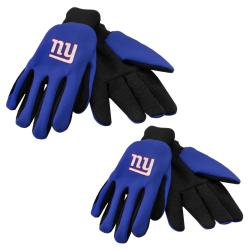 New York Giants Two-tone Work Gloves (Set of 2 Pair)