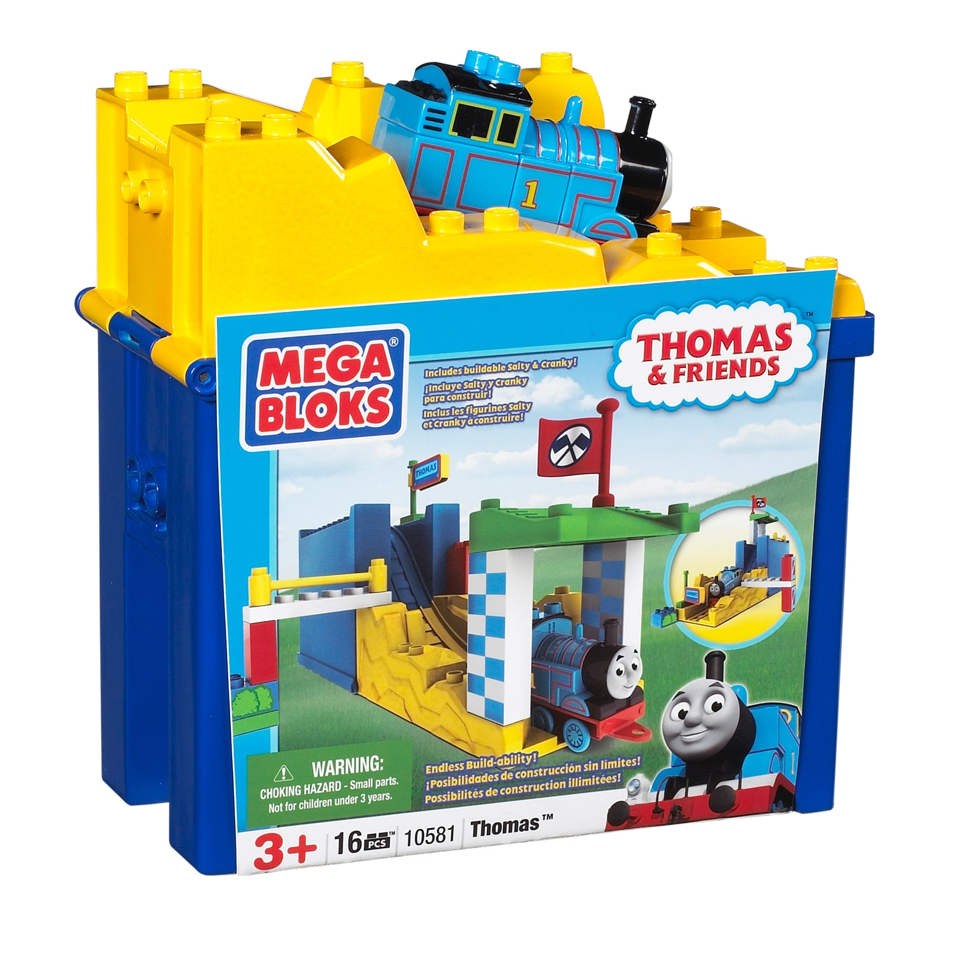 Mega Bloks Thomas and Friends Thomas at the Races Play Set