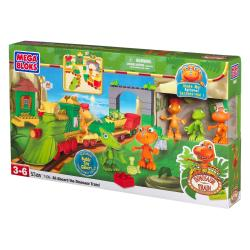 Mega Bloks Dinosaur Train All Aboard the Dinosaur Train Play Set