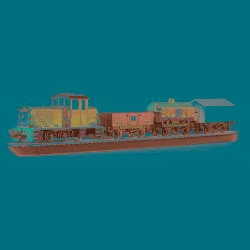 Bachmann HO Scale Thomas and Friends Salty Dockside Delivery Train Set