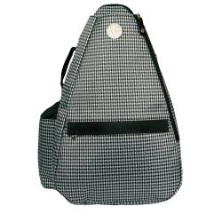 Jet Pac Houndstooth Tennis Sling Bag
