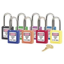 Master Lock 6-Pin Red Safety Padlock