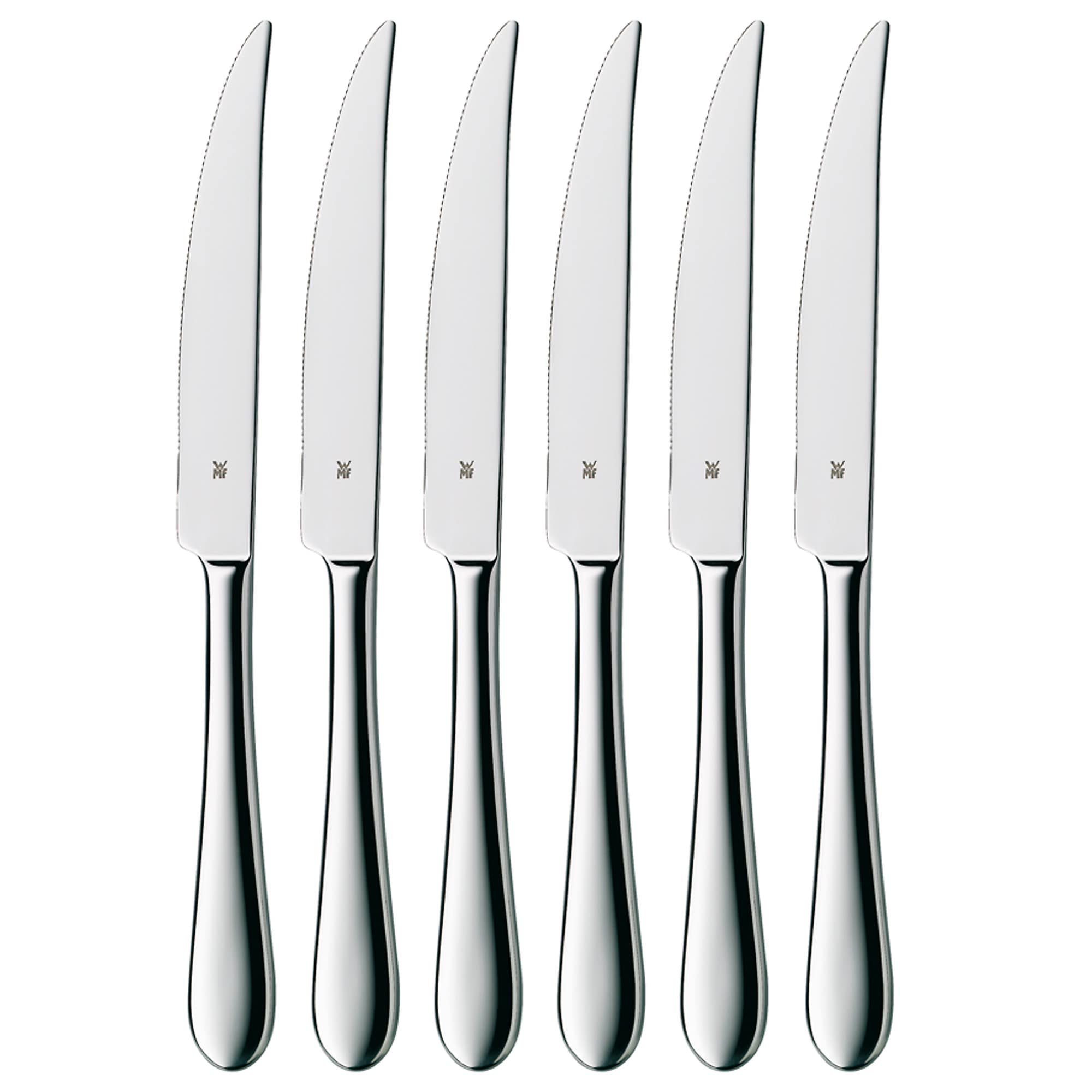 WMF Signum Stainless Steel Steak Knives (Set of 6)