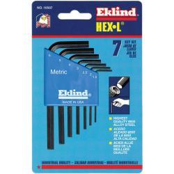 Eklind Tool 9-Piece Long Arm Metric Hex Key