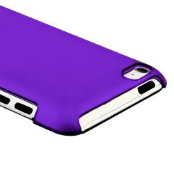 Clear Purple Snap-on Slim-fit Case for Apple iPod Touch Generation 4