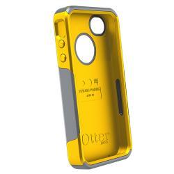 Otter Box Apple iPhone 4/ 4S OEM Grey/ Sun Yellow Commuter Case