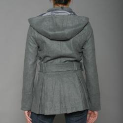 Soho Babe Women's Melton Coat