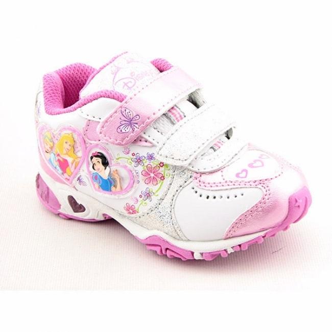 disney princess toddler white walking shoes size 10