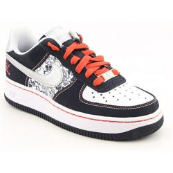 Nike Boys&#39; Air Force 1 Black/ White Basketball Shoes