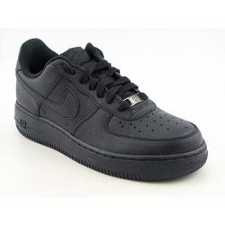 Nike Boys' Air Force 1  Black Basketball Shoes