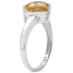Malaika Sterling Silver Citrine Ring