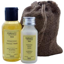Quench India Turmeric Facial Care Set (India)